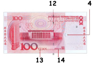 100 Chinese Renminbiyuan Counterfeit Money Detection Know How