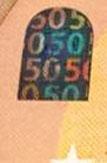 new 50 Euro note Portrait window back 2