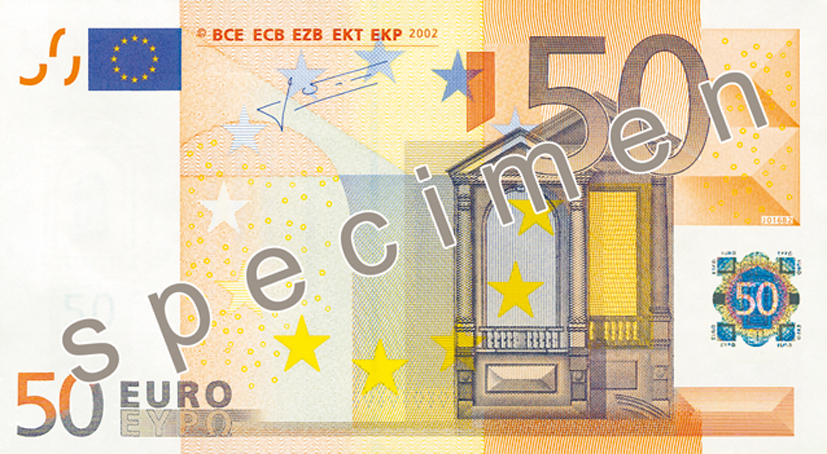 50 euro banknote counterfeit money detection know how. Black Bedroom Furniture Sets. Home Design Ideas
