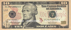 United States ten dollar obverse